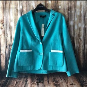 TALBOTS Soft Wool Jacket Blazer